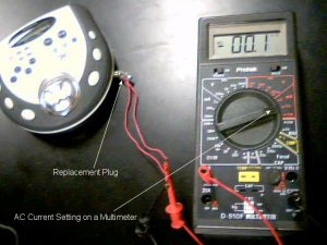 How To Test AC Current From An Audio Player