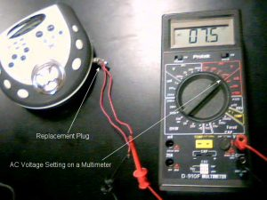 How To Test The Thevenin Voltage From An Audio Player