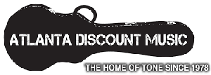 atlanta discount music logo